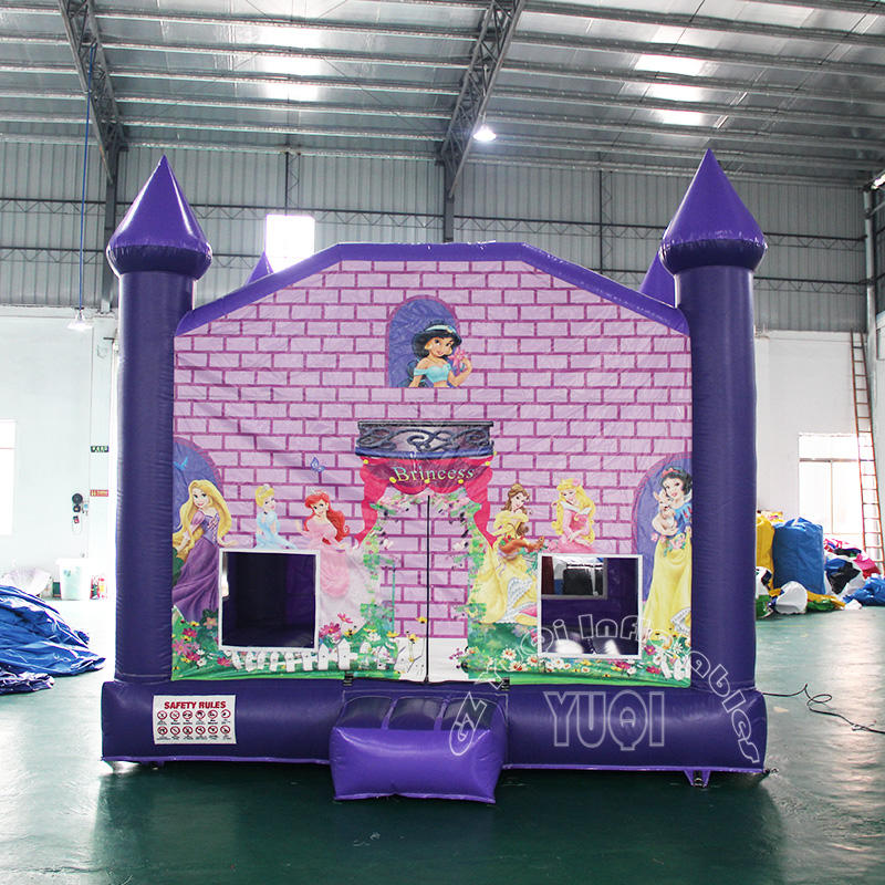 YQ47 Beautiful Princess inflatable bouncer for kids
