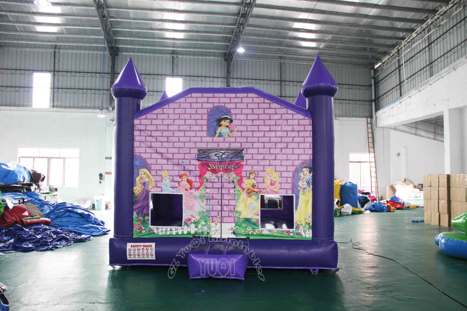 YUQI-High-quality Yq47 Beautiful Princess Inflatable House For Kids