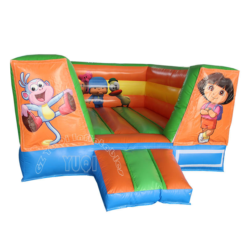 YQ50 Kids play inflatable bouncer jumping castle