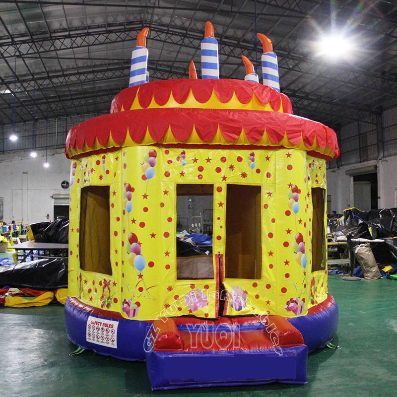 YQ58 Happy Birthday inflatable bouncer for party