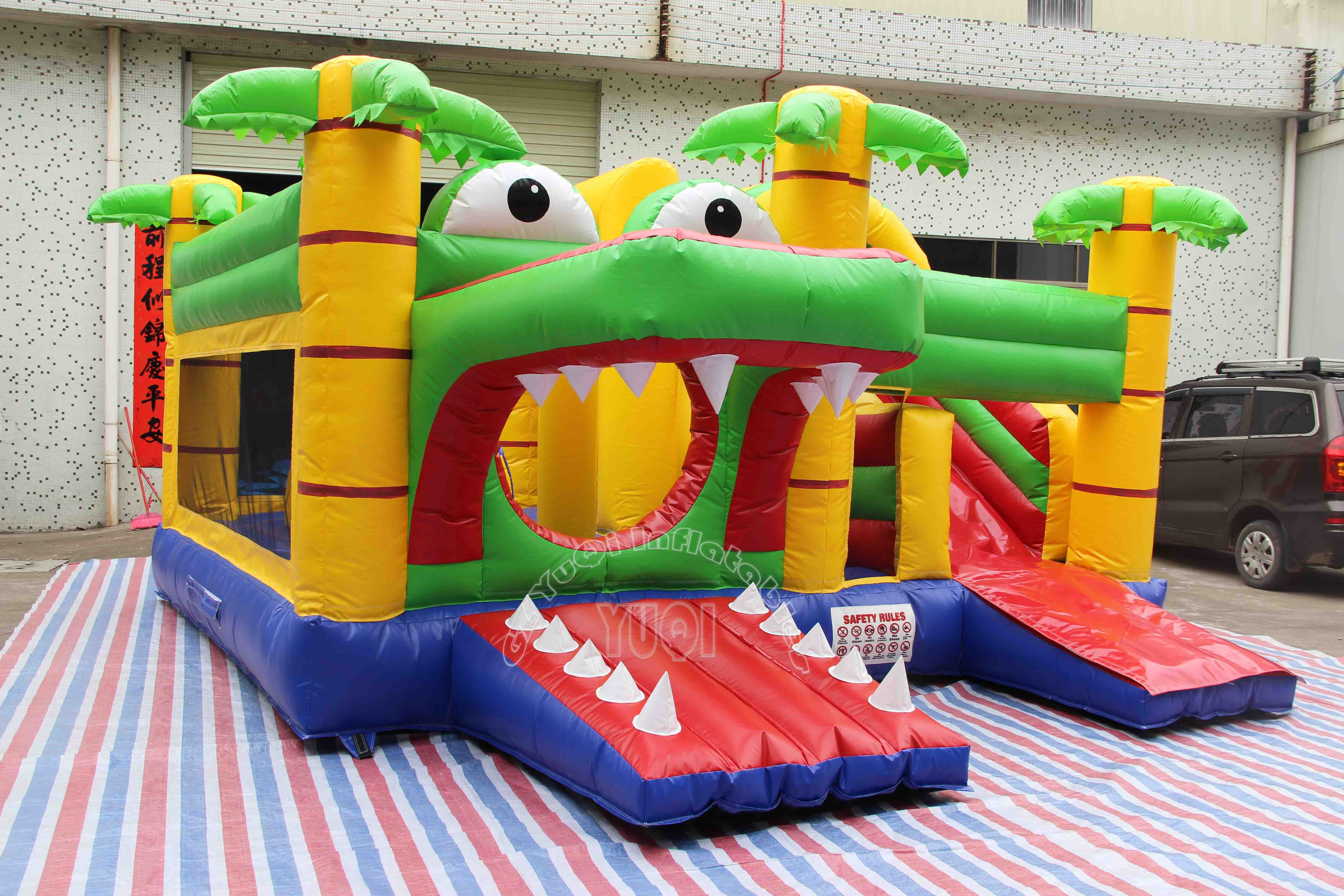 YUQI-Buy Bounce House New Design, Inflatable Combo Bouncer With Slide