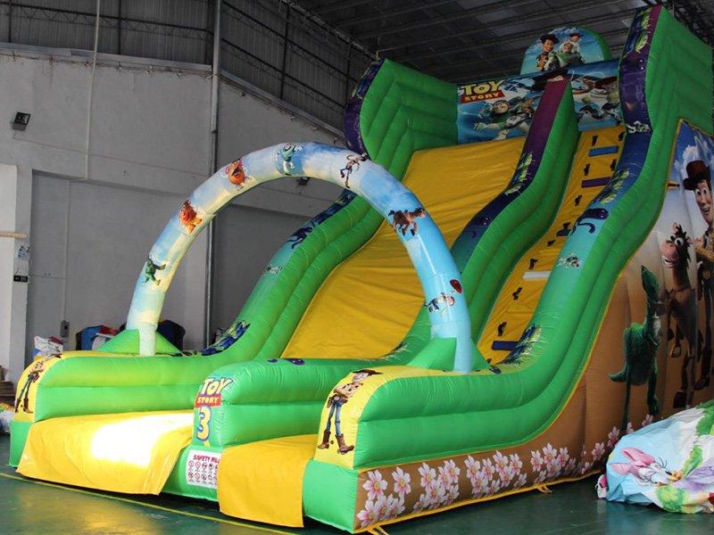 YUQI-Yq45 Cute Bee Inflatable Bounce House Combo For Kids-12
