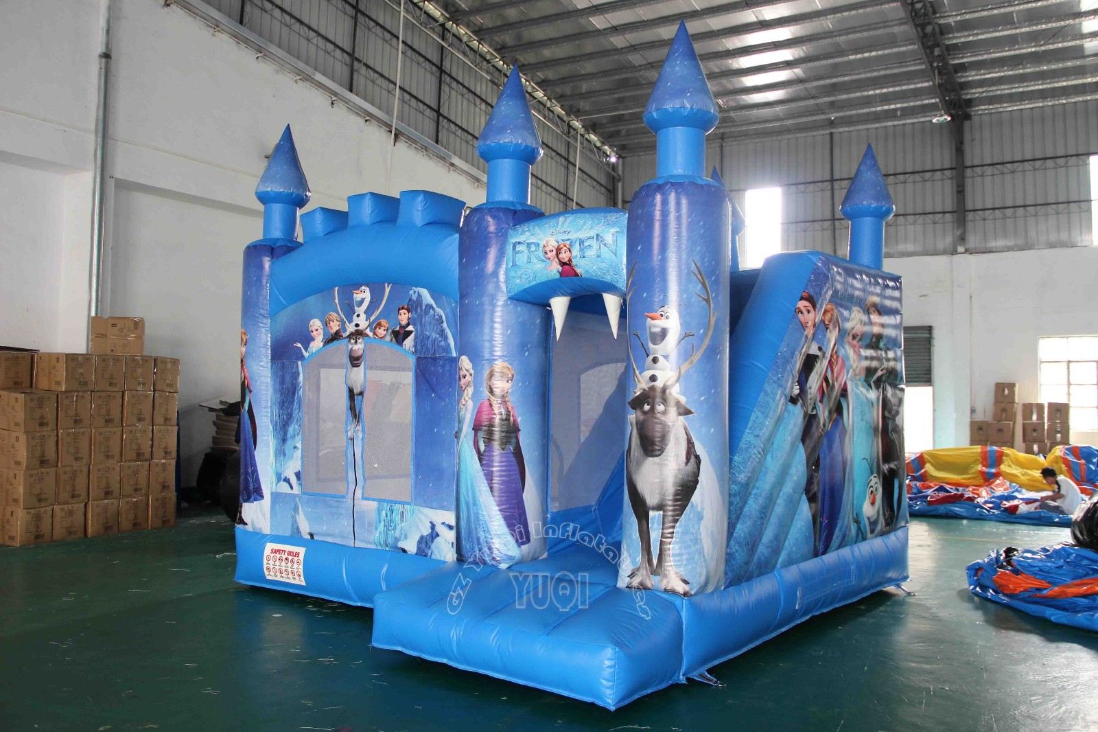YUQI-Jump And Slide Bouncer For Sale bounce House And Water Slide