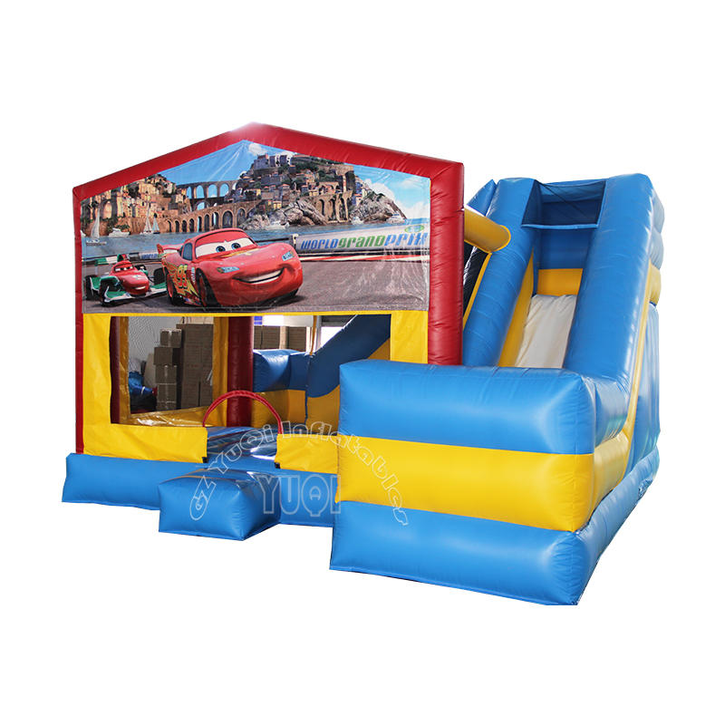 YQ49 Best quality Inflatable bouncer slide combo for kids