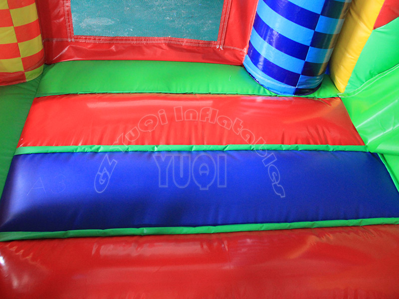 YUQI-Professional Soldier Cartoon Inflatable Bounce House Slide Combo-2
