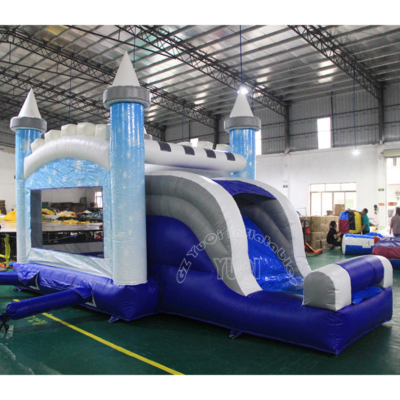 YQ35 Inflatable bouncer slide combo for kids