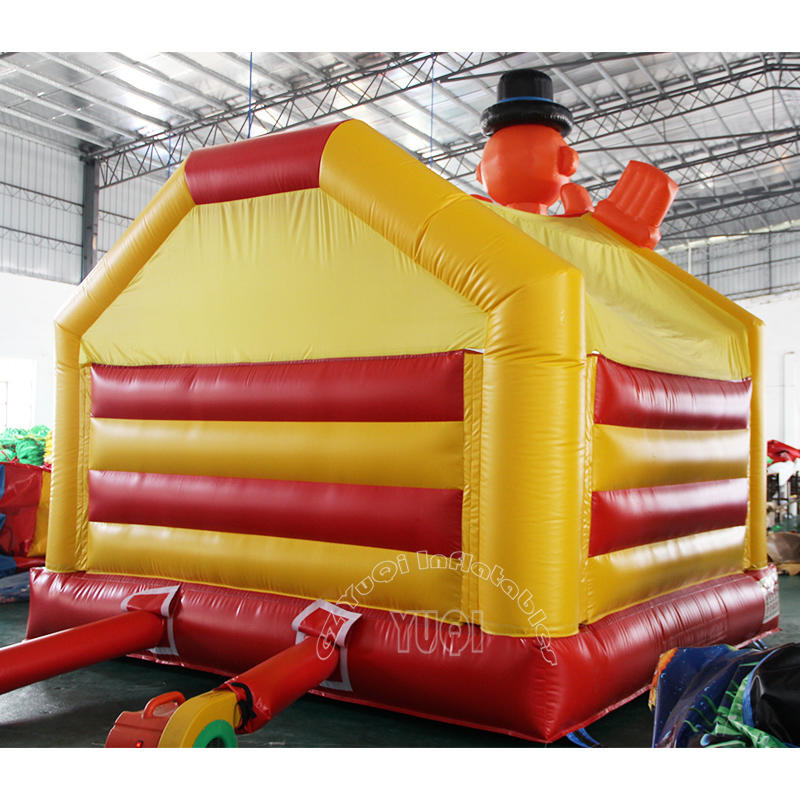 YQ53 Happy Clown inflatable bouncer for kids