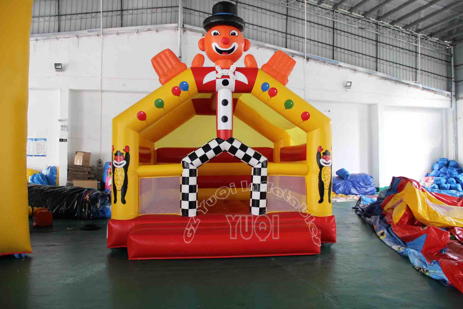 YUQI-Best Yq53 Happy Small Bounce House For Small Kids