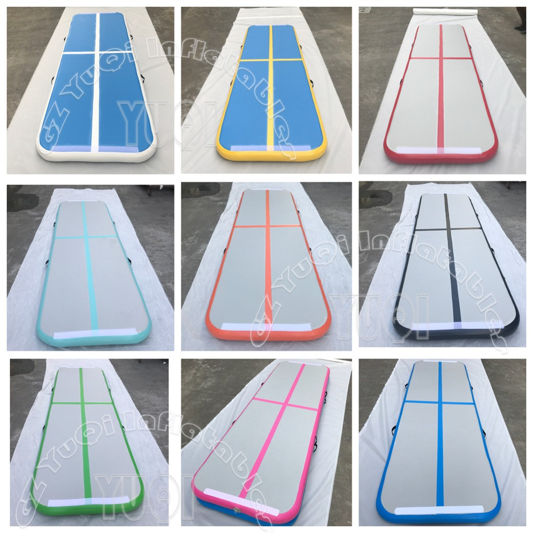 YUQI-Very Popular Inflatable Gymnastics Track Factory Wholesale Gym Mat-2
