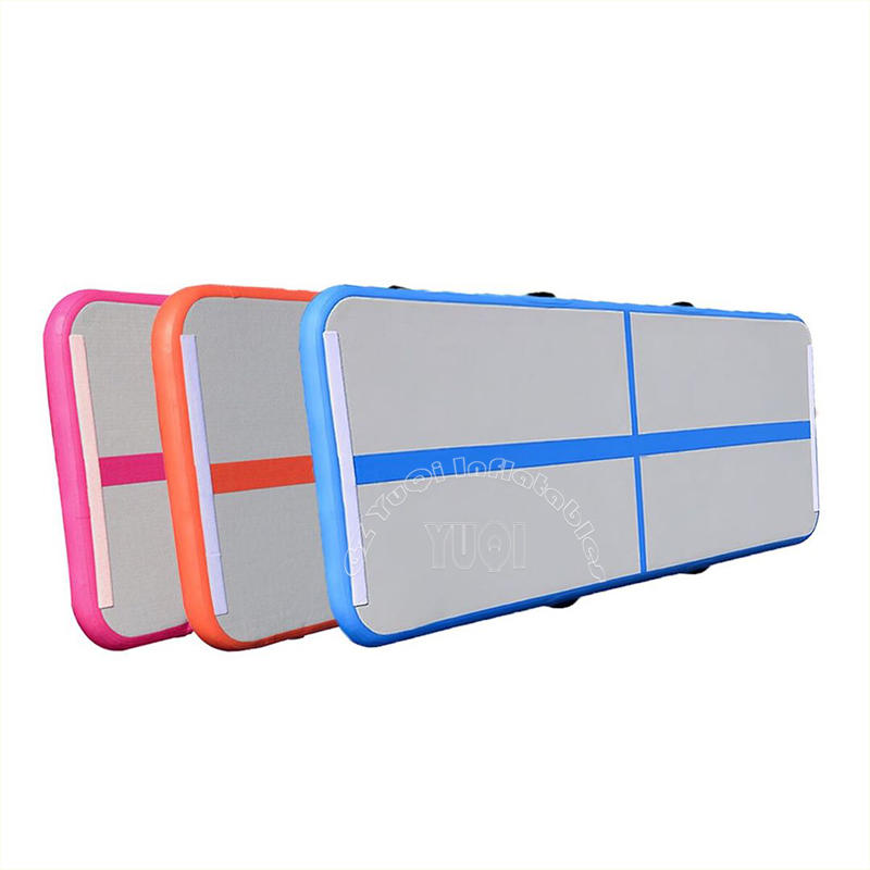 YQ73 Inflatable Air Track Factory Wholesale Gym Mat Air Tumble Track