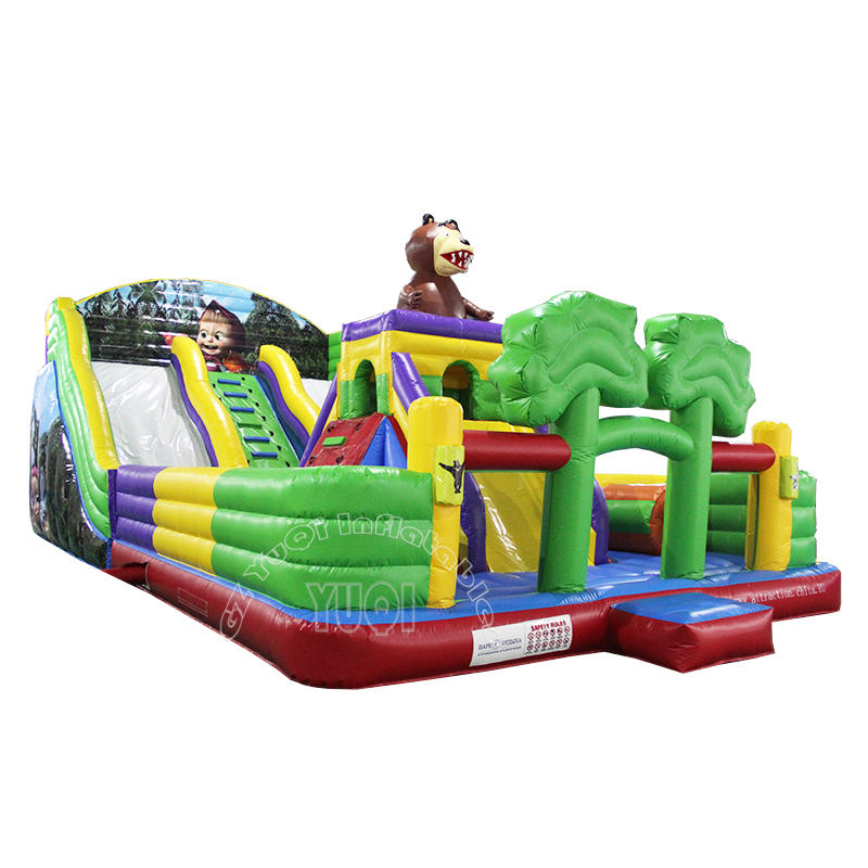 YQ60 Giant inflatable outdoor playground inflatable amusement park for kids