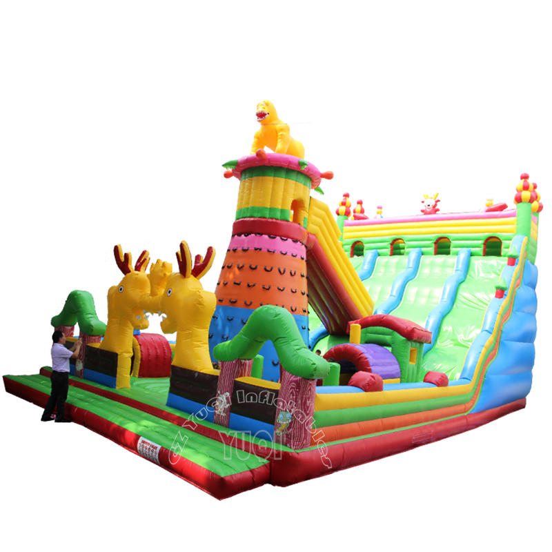 YQ30 China factory giant inflatable playground