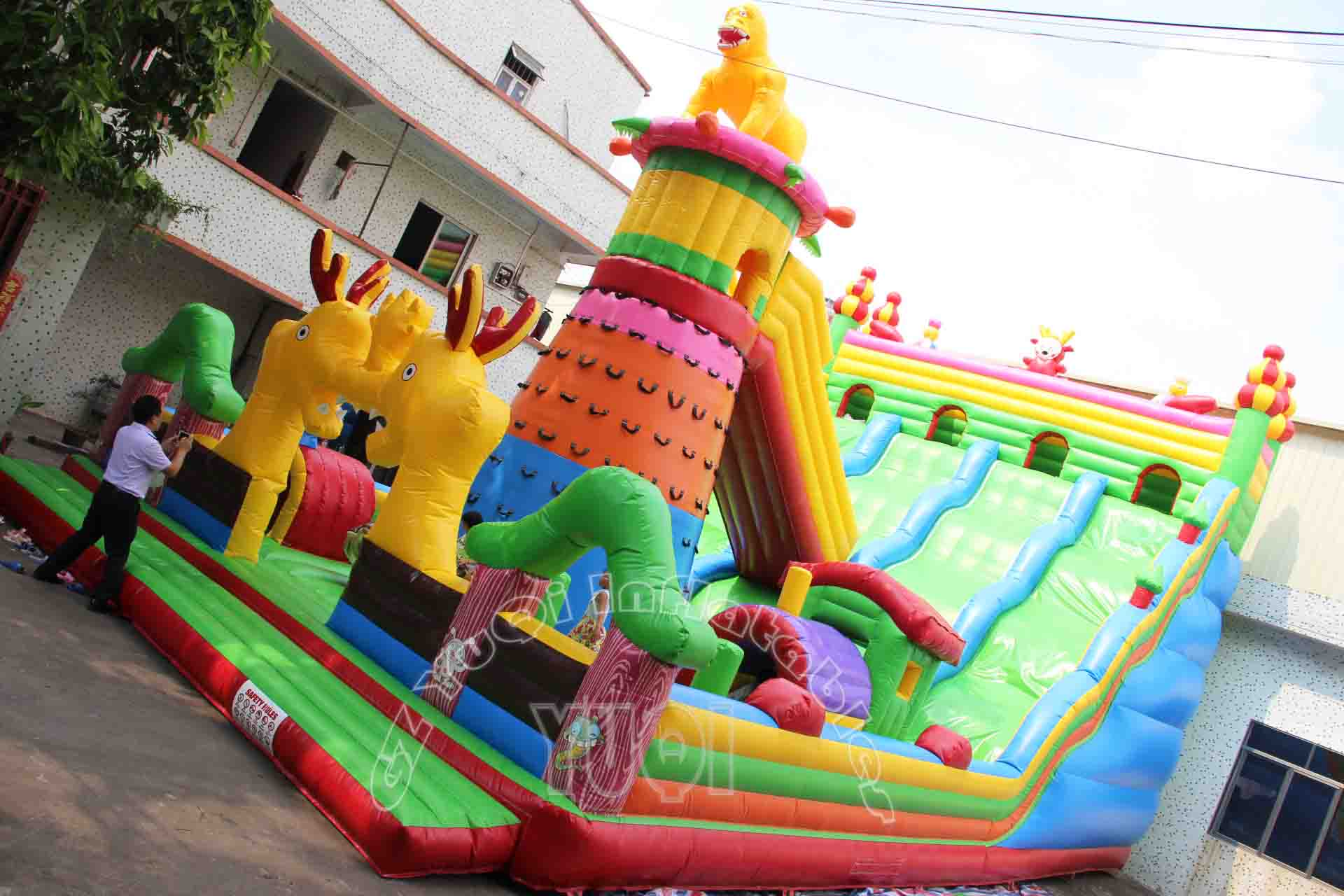 YUQI-Find Yq30 China Factory Indoor Inflatable Amusement Park
