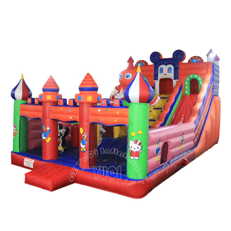 YQ33 Popular Mickey mouse giant inflatable outdoor playground