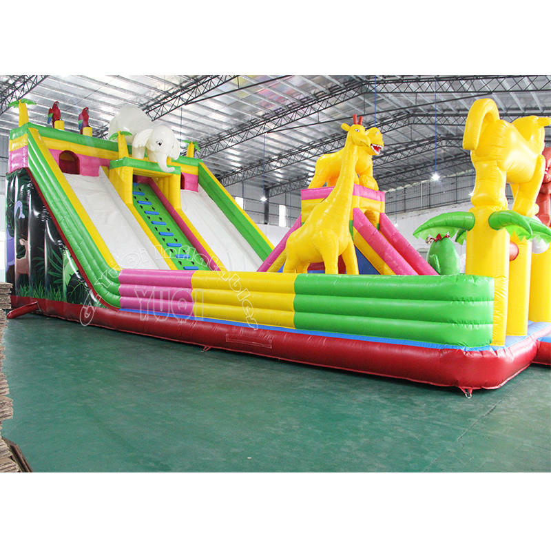 YQ61 Animal Giant inflatable outdoor playground