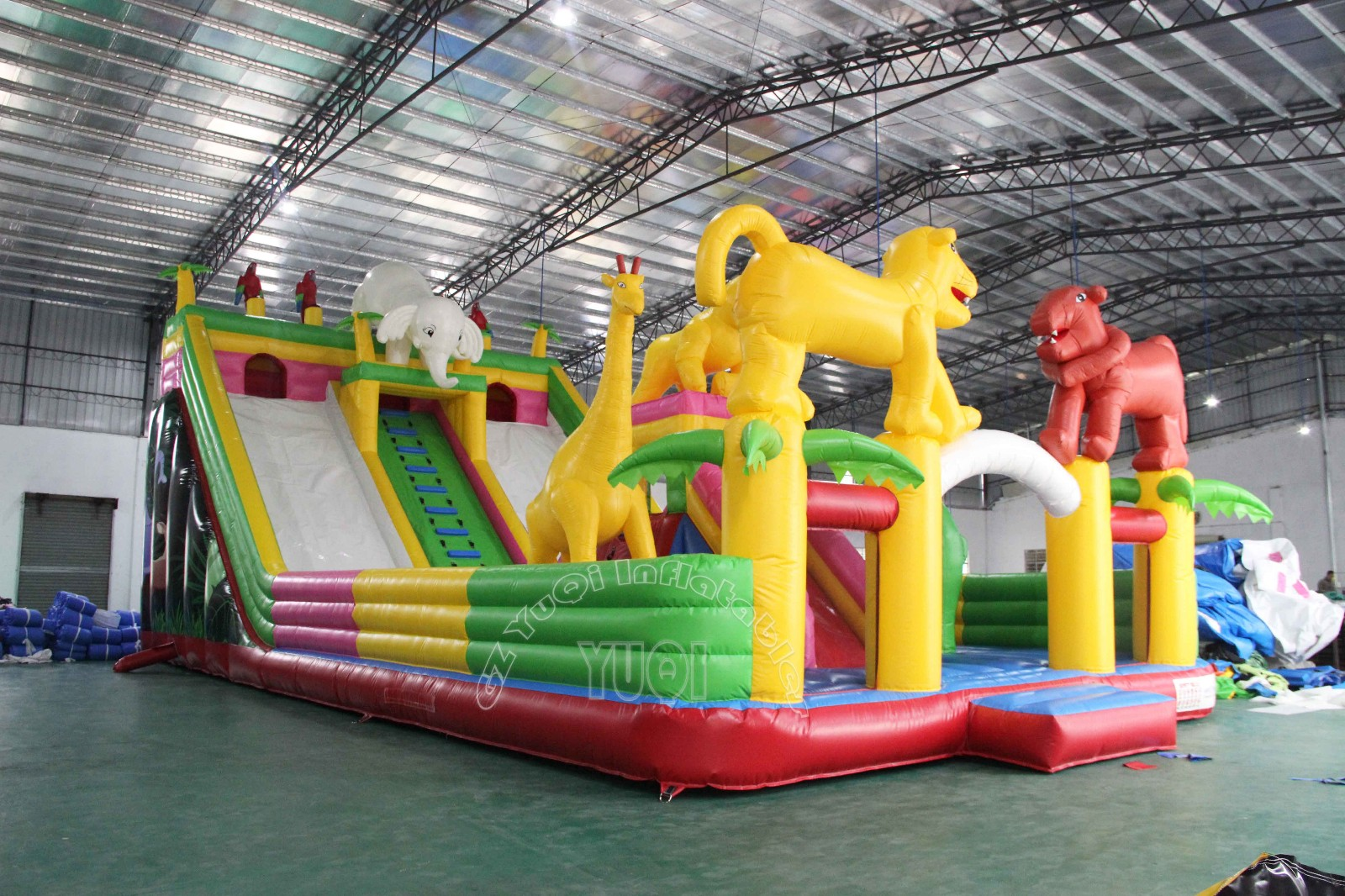 YUQI-Best Yq61 Animal Giant Inflatable Park Outdoor Playground