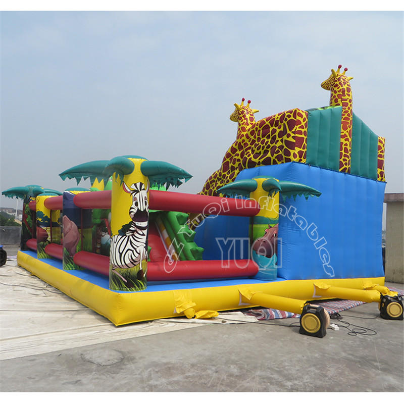 YQ610 Giant inflatable playground inflatable outdoor amusement park for kids