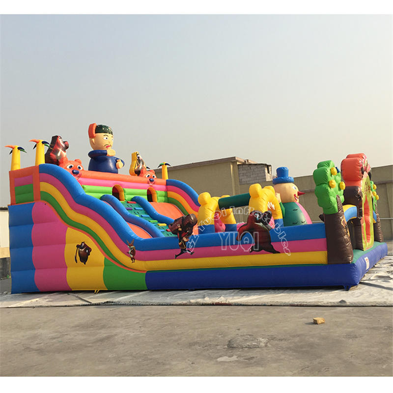 YQ612 China Outdoor Customized Hot Sale Funny Inflatable Amusement Park