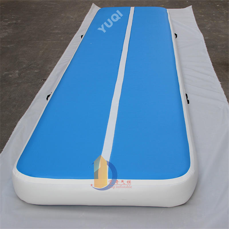 YQ75 Factory sale gymnastics inflatable air track, gym mat