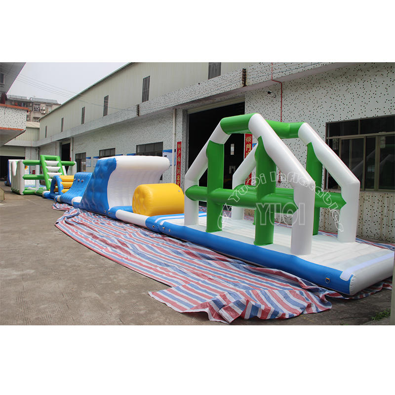 YQ01 Super Inflatable Floating Trampoline Inflatable Water park equipment