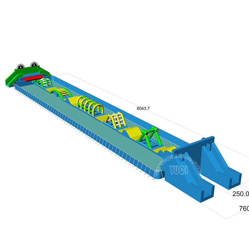 YQ02 Inflatable Floating Trampoline Inflatable Water park equipment