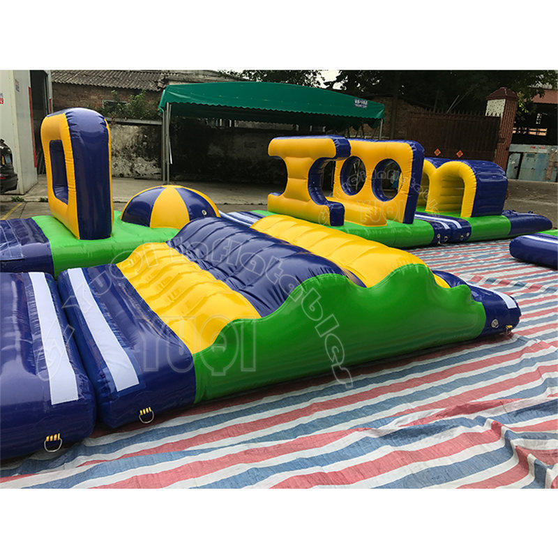 YQ04 Small Inflatable mobile Water park equipment Inflatable Water Games for kids