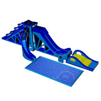 YQ243 Commercial outdoor big huge large giant  inflatable water slide for adults