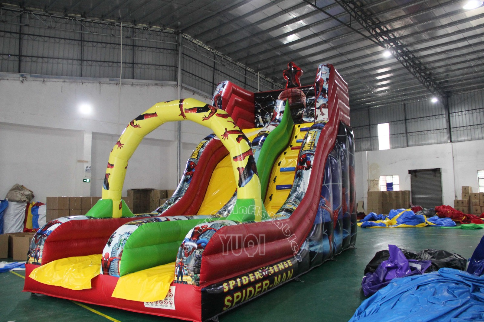 YUQI-Professional Inflatable Water Slide Commercial Inflatable Water
