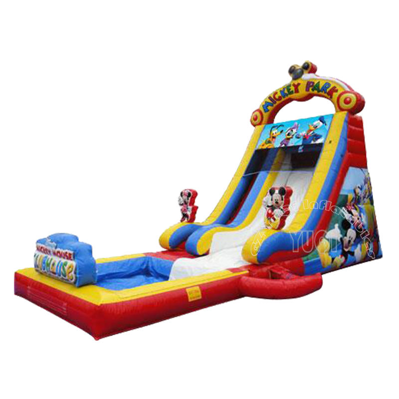 YQ27 Mickey mouse inflatable slide outdoor playground