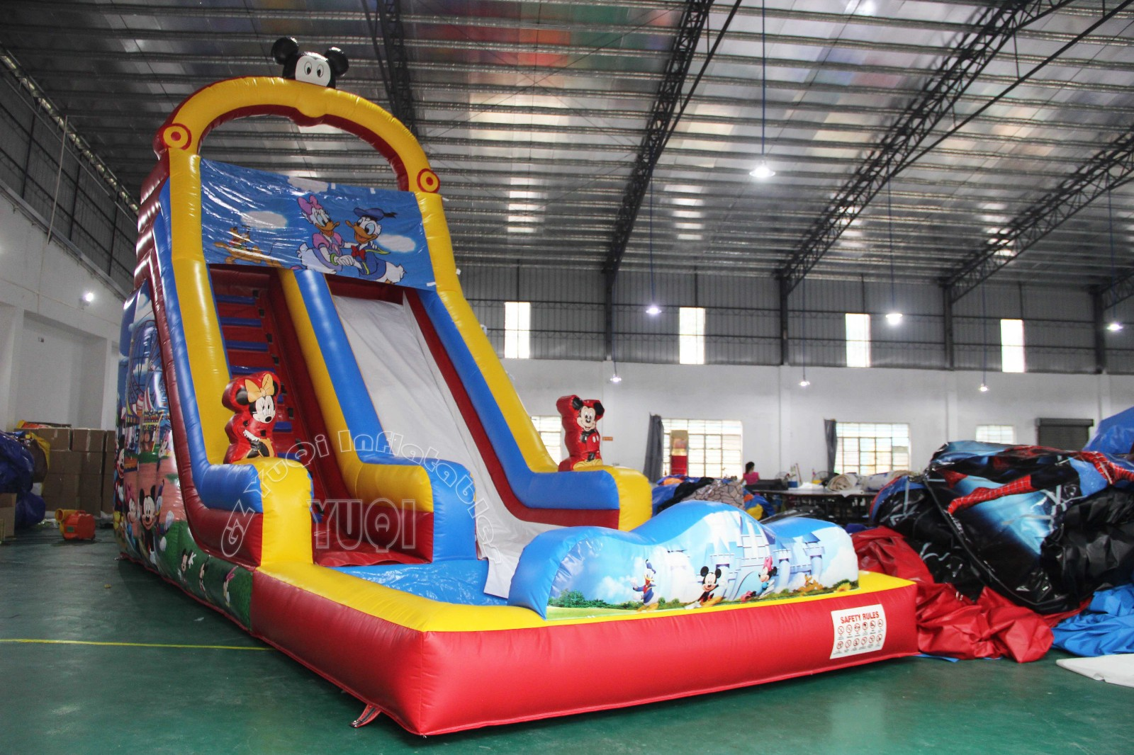 YUQI-Find Water Park Inflatable Slide Inflatables With Water Slide