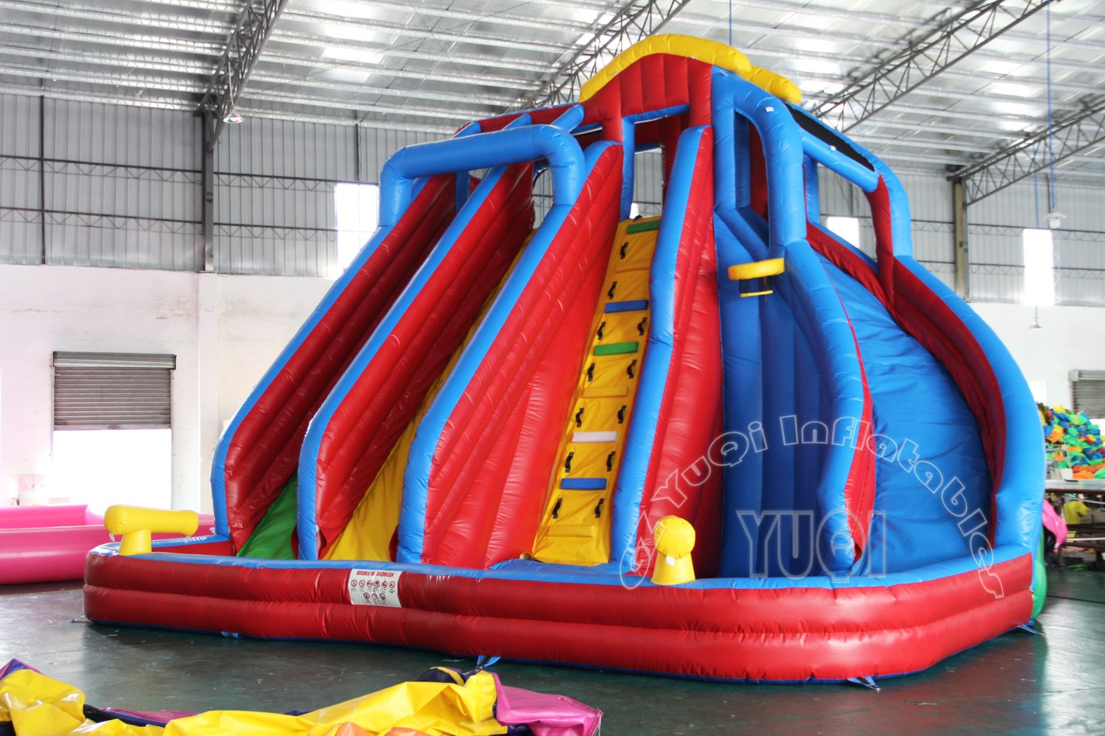 YUQI-Find Commercial Inflatable Slide Park Water Park Inflatable Slide