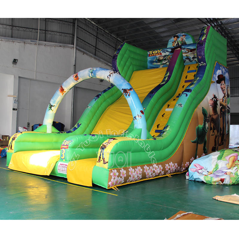 YQ321 Best Qaulity Inflatable Slide Pikachu Children Slide