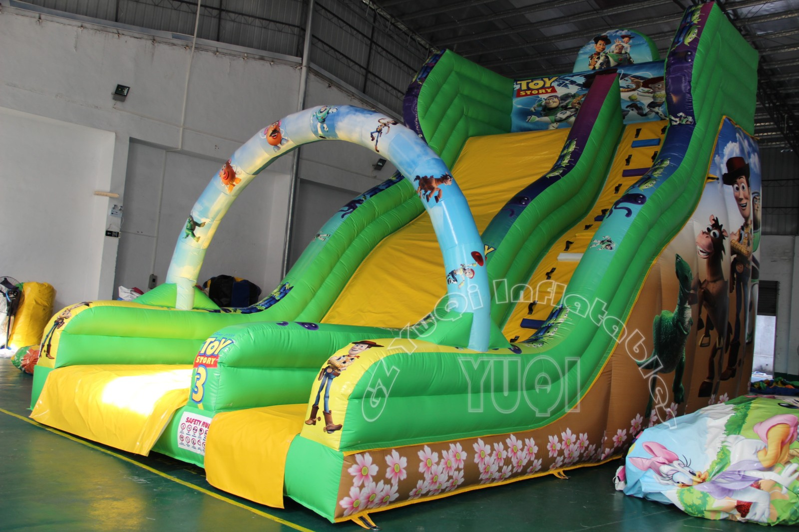 YUQI-Find Commercial Inflatable Slip And Slide outdoor Inflatable Slide