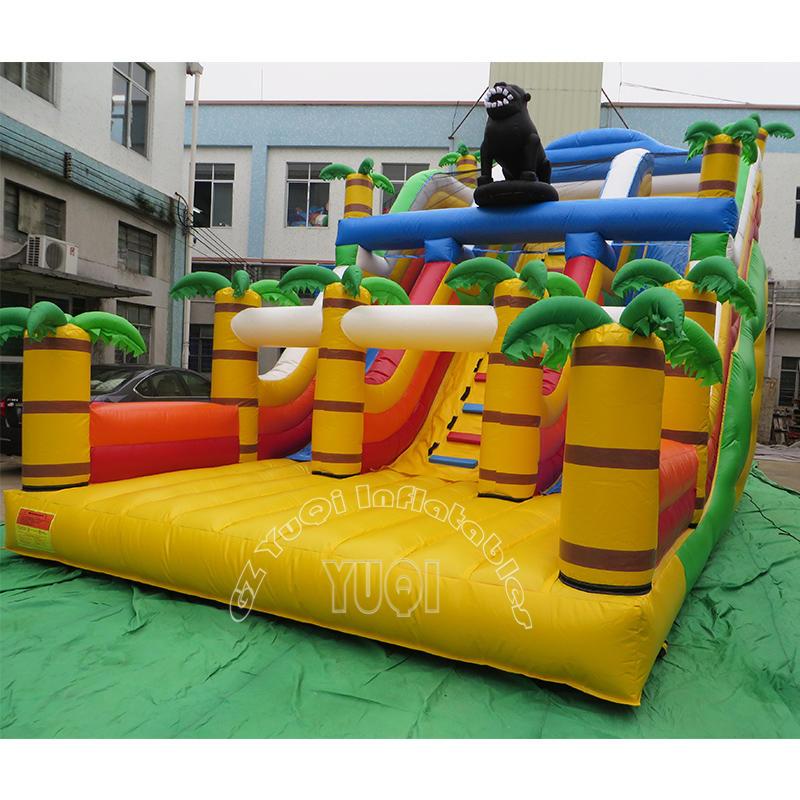 YQ322 Inflatable Forest Cartoon Theme Bouncy Castle
