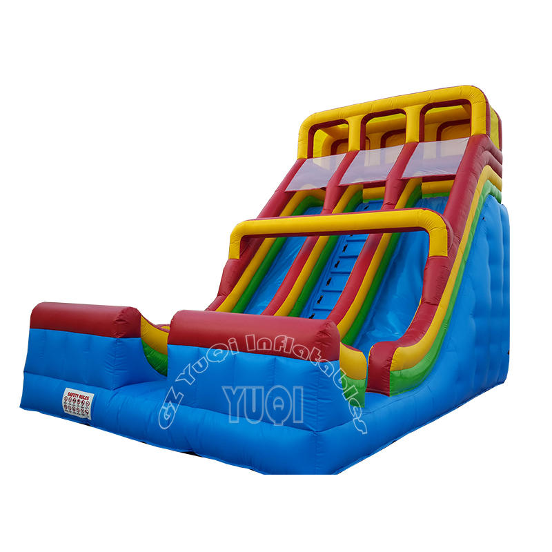 YQ324 Hot Commercial Large Inflatable Slides