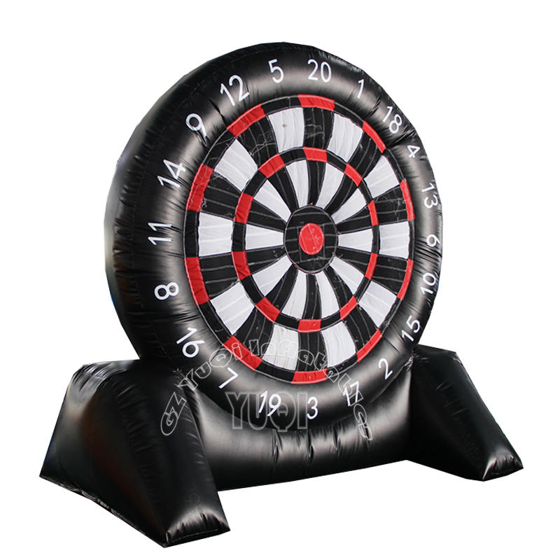 YQ66 Soccer Games Giant Inflatable Football Soccer Dart Board Sport Game