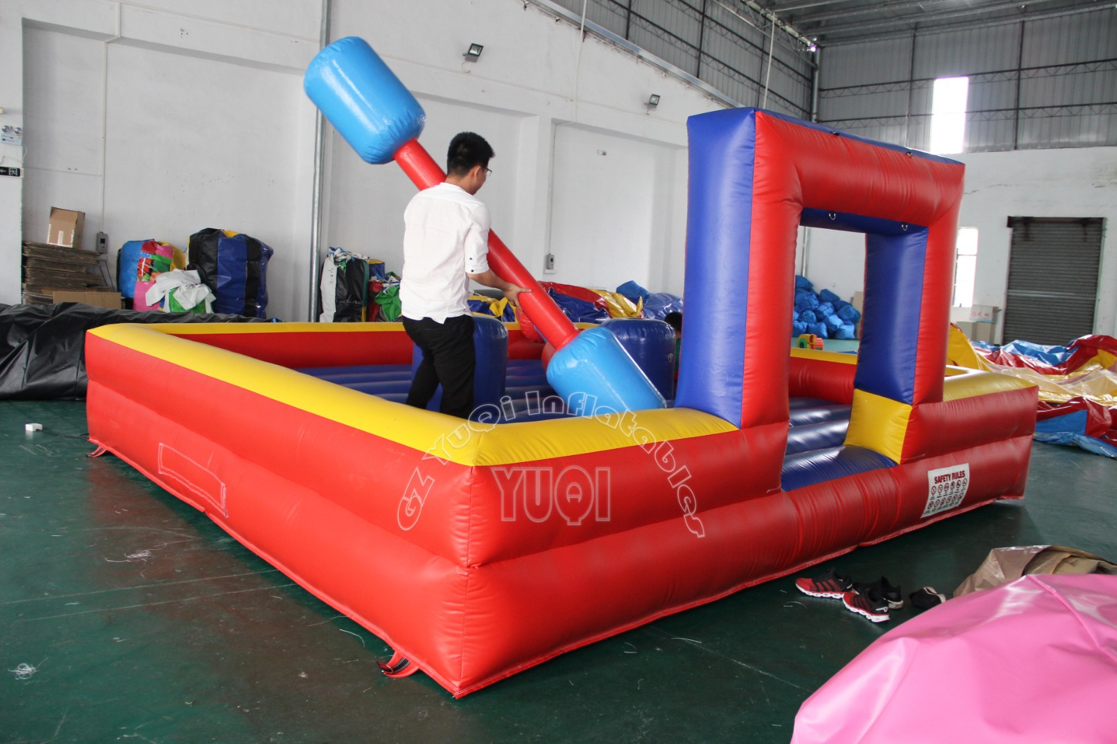 YUQI-High-quality Yq67 Best Quality Pvc Tarpaulin Inflatable Sport Games