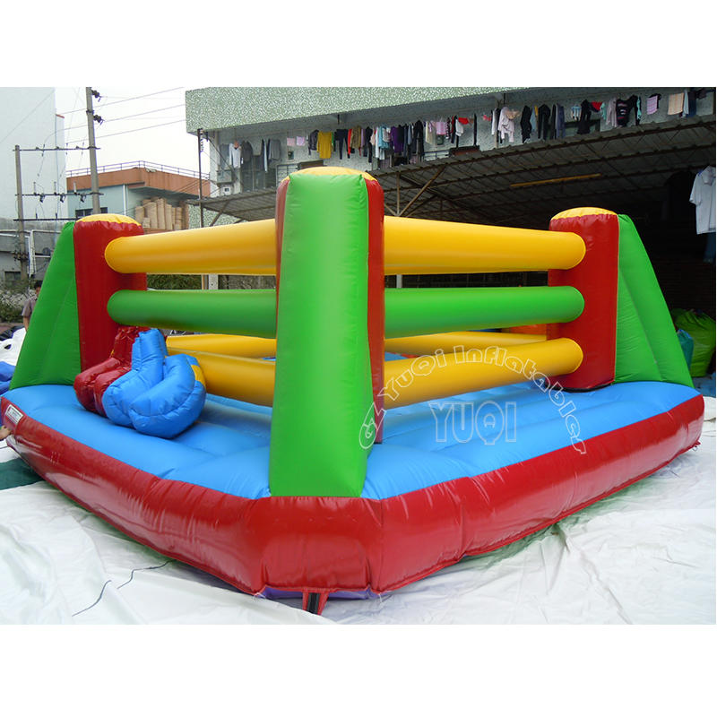 YQ670 PVC material Comercial inflatable sport game inflatable boxing rings for sale