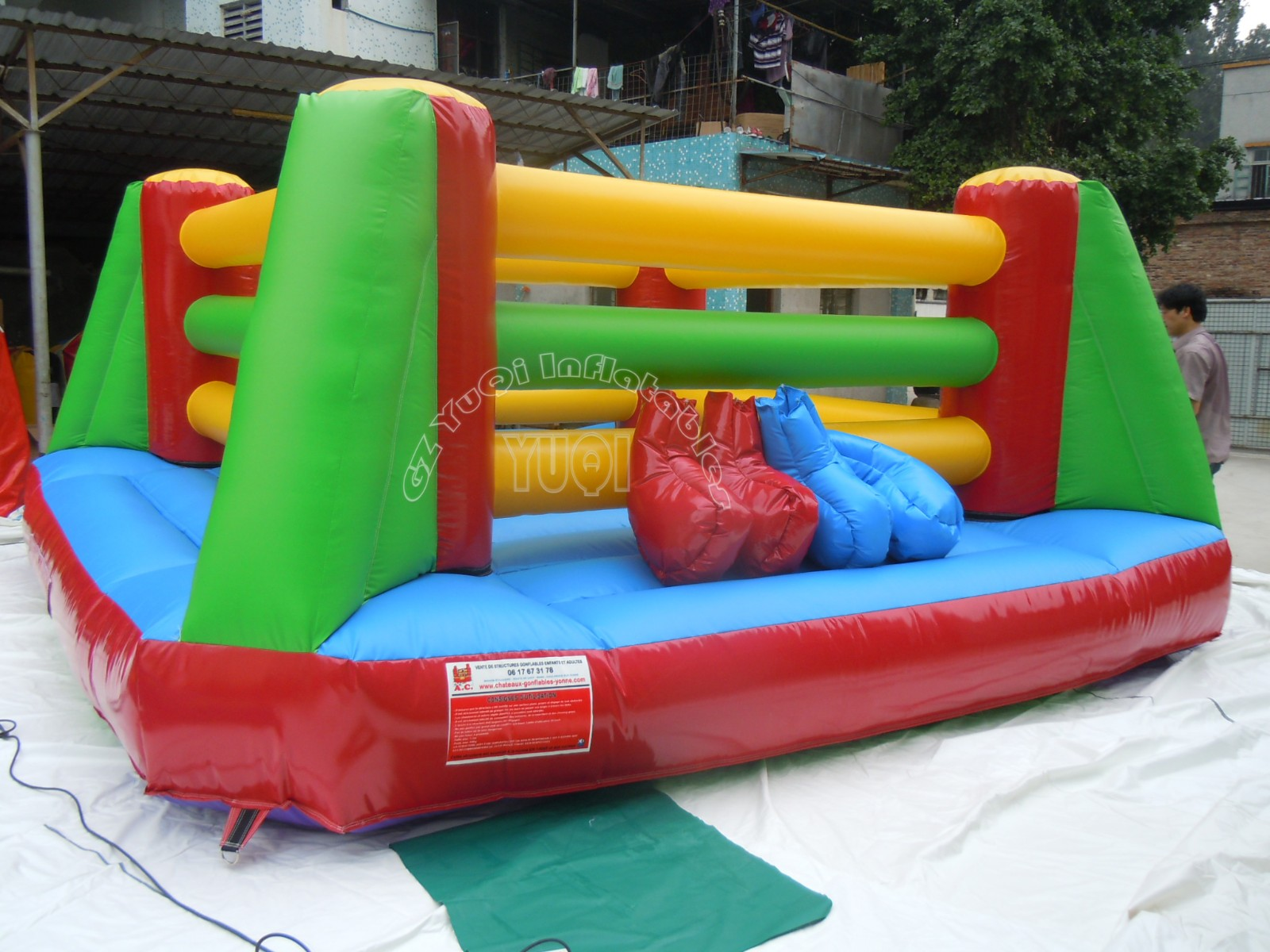 YUQI-Professional Yq670 Pvc Material Comercial Inflatable Game