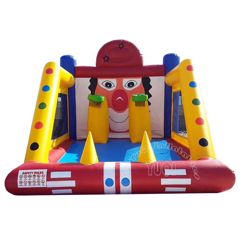 YQ671 Best quality basketball hoop game inflatable basketball shoot sport game for Kids and Adult