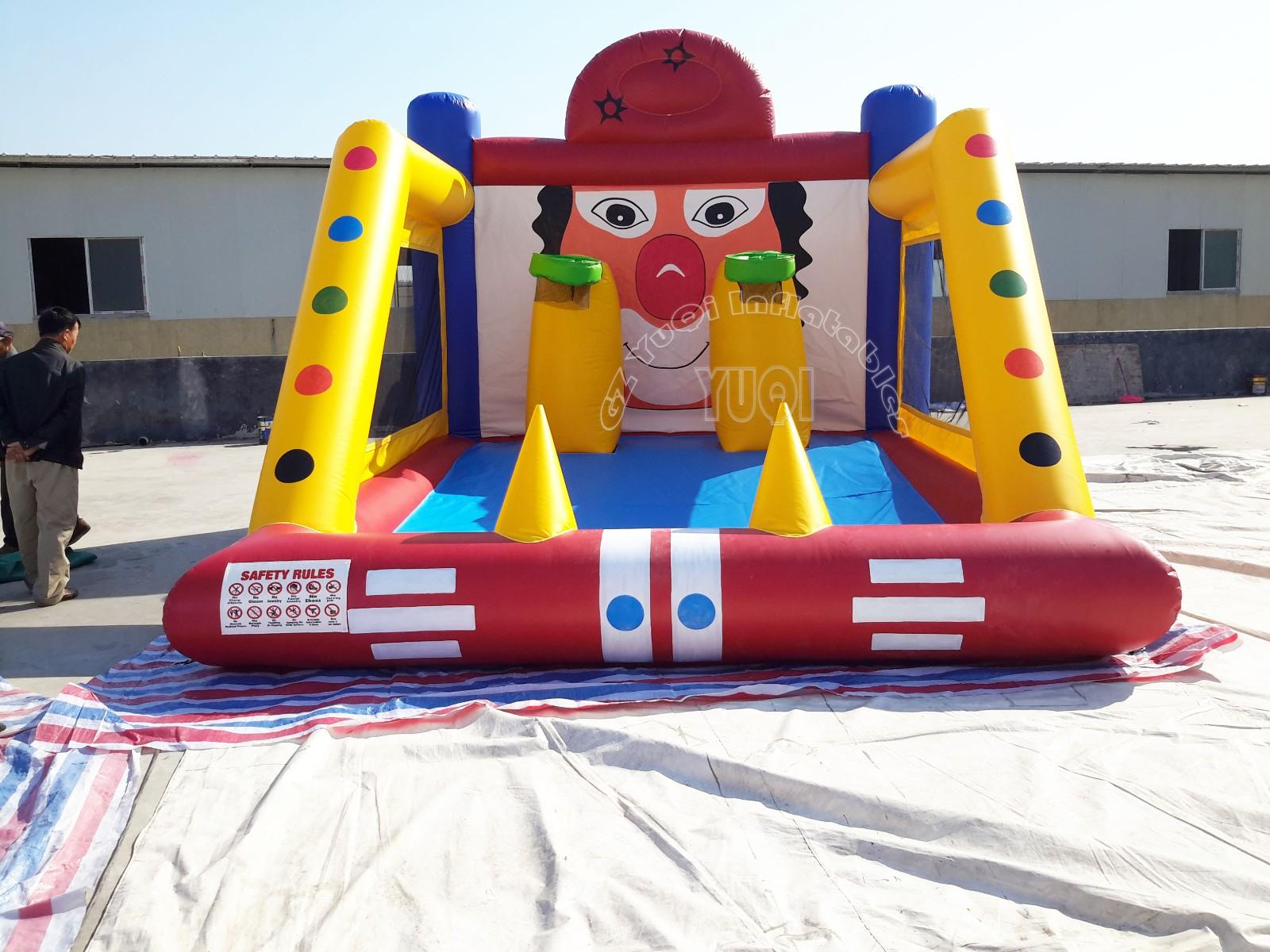 YUQI-Professional Yq671 Best Quality Basketball Hoop Inflatable Sport