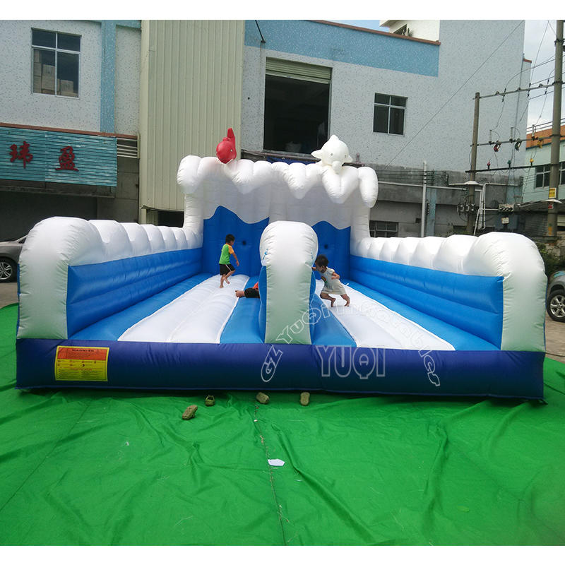 YQ674  Interesting Double Line Bungee Running Outdoor