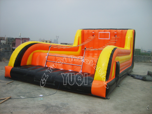 YUQI-Yq675 Jacobs Ladder Funny Inflatable Sport Games For Adults And