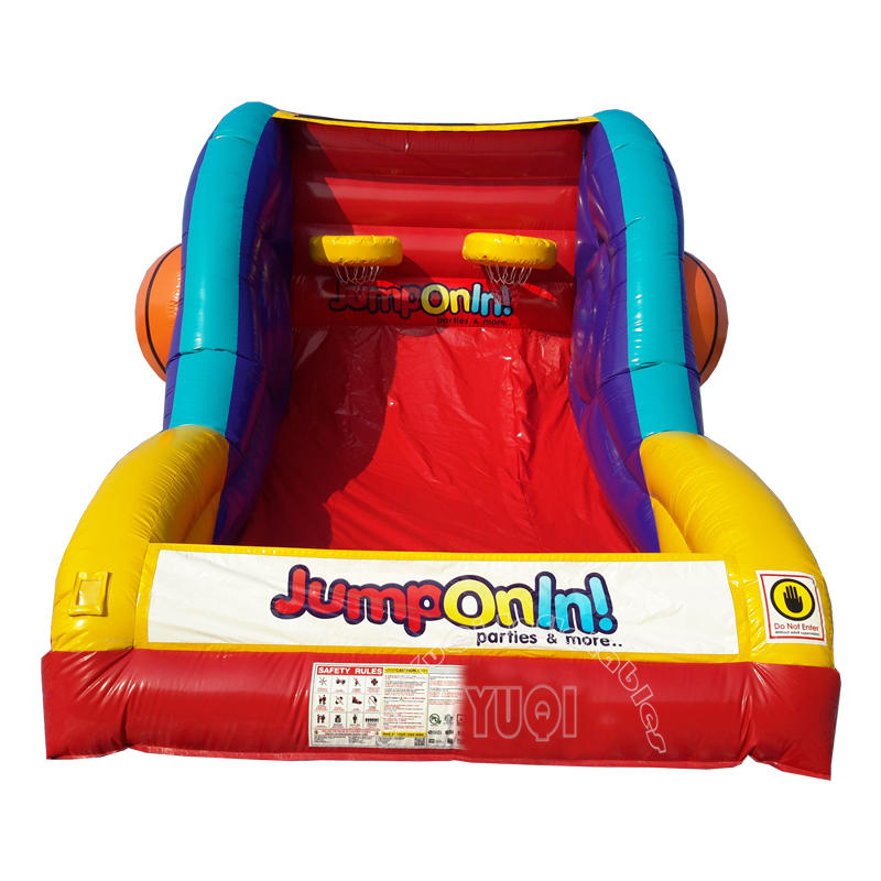 YQ680 inflatable sports game inflatable basketball games