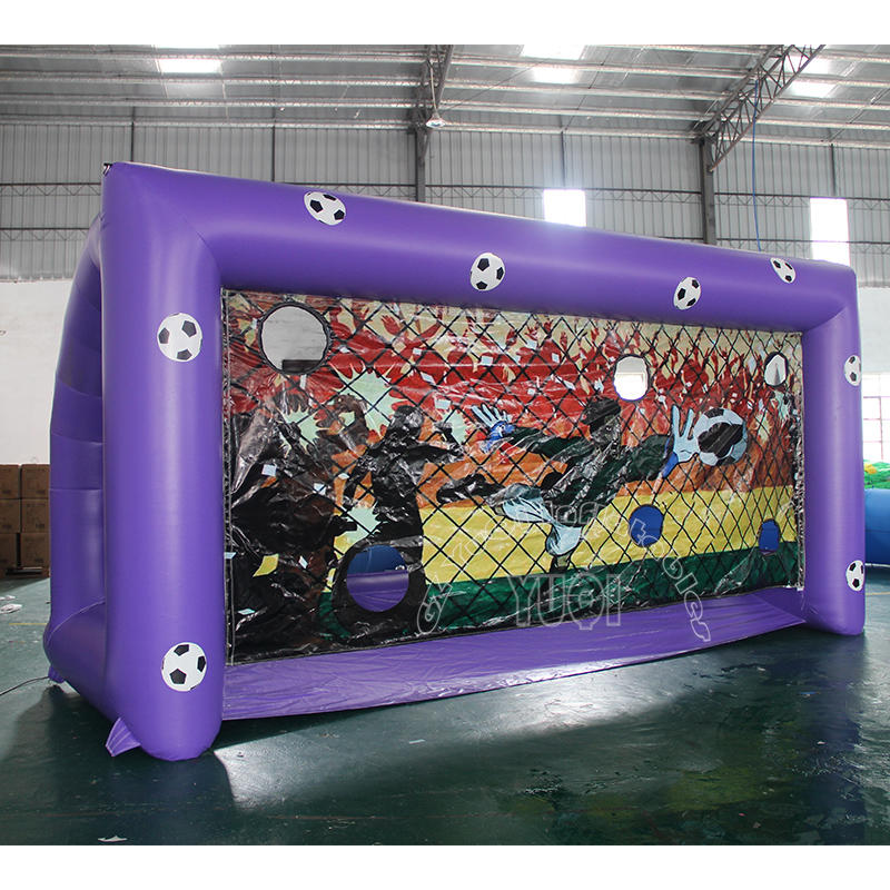 YQ683 Inflatable football penalty shoot out games on sale football shoot