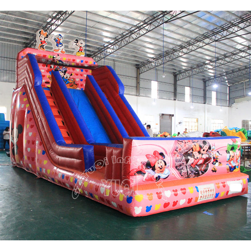 YQ326 Kids Inflatable Mickey Slide