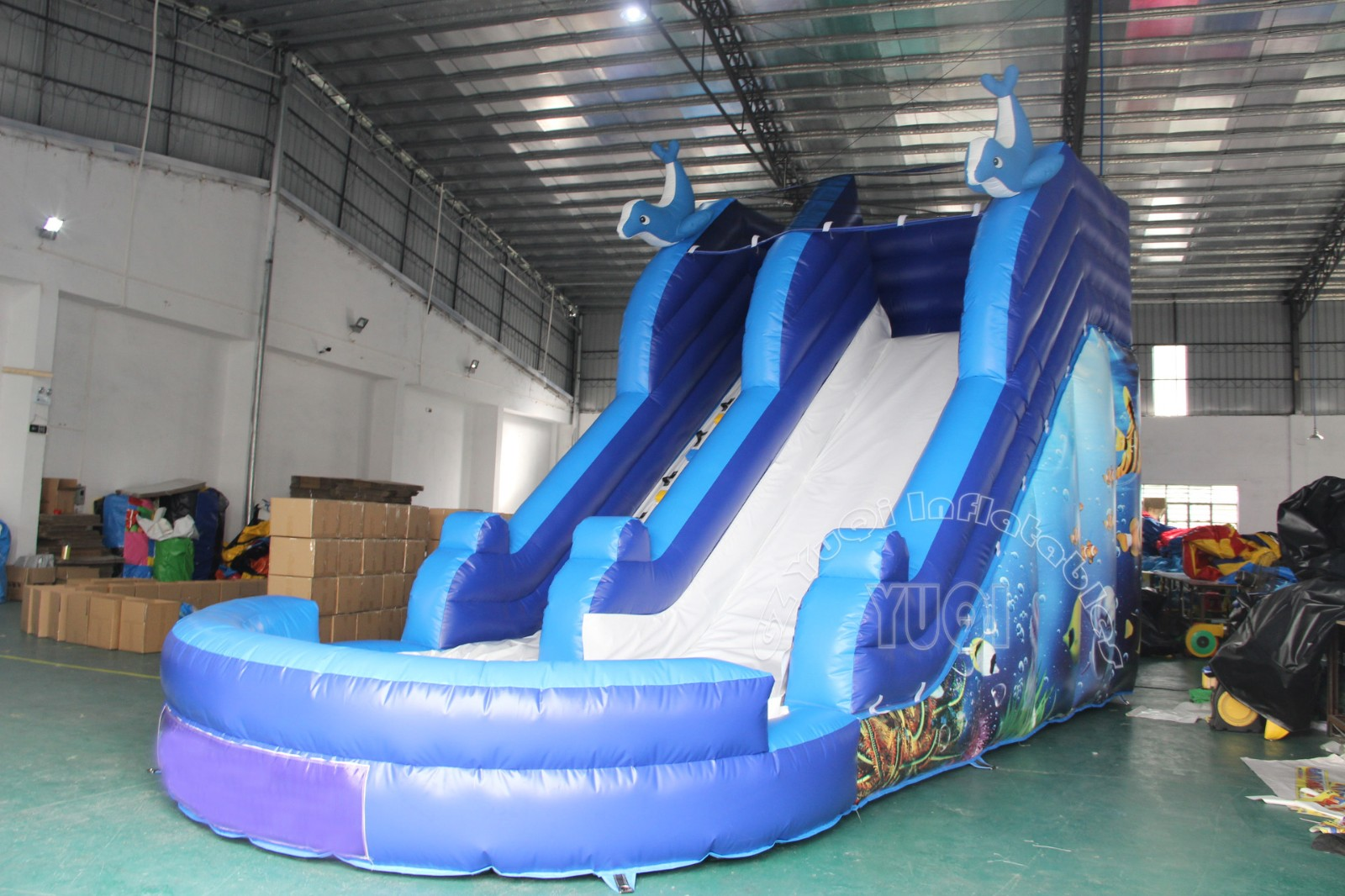 YUQI-Find Yq327 Hot Sale Inflatable Slip And Slide | Manufacture