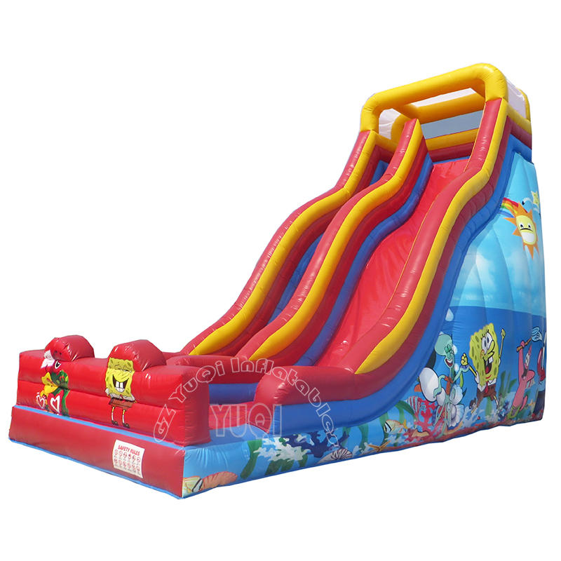 YQ328 Cheap Price Inflatable Kids Slides