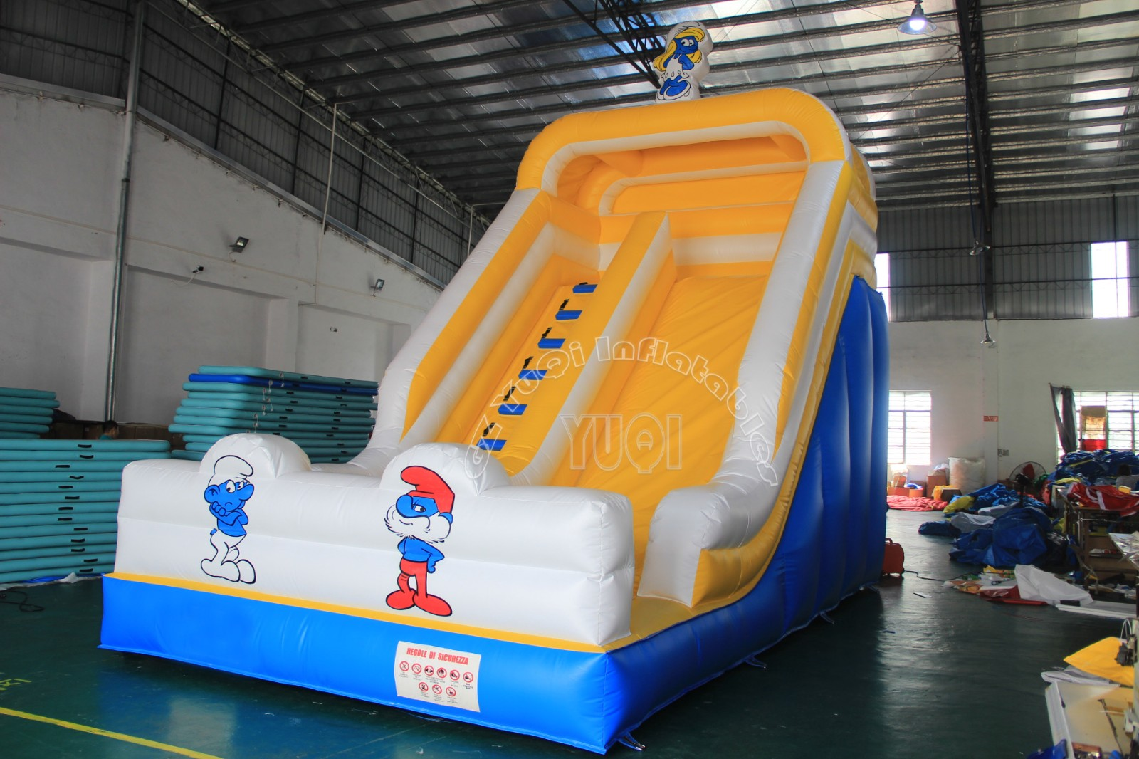 YUQI-Yq329 Customized Water Inflatable Slide Commercial Children Slides