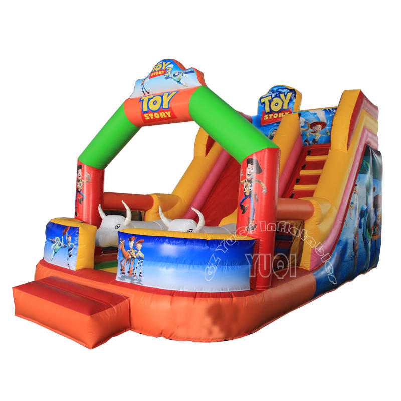YQ330 PVC tarpulin inflatable slide giant inflatable slide for adults and kids